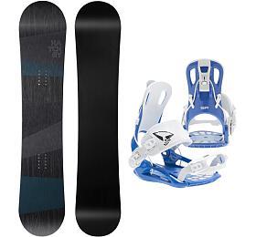 Hatchey Snowboardový set General +FT270 blue, 160w