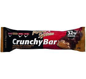 Power System Crunchy Bar 32% Peanutbutter with Crunchy Caramel 45g
