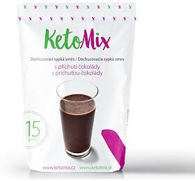 KetoMix příchuť kekoktejlu -čokoláda -45 g