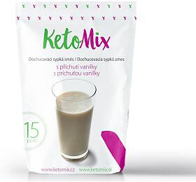 KetoMix příchuť kekoktejlu -vanilka -45 g