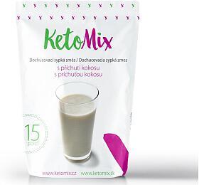 KetoMix příchuť kekoktejlu -kokos -45 g