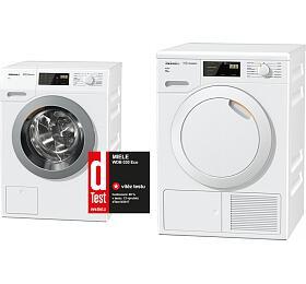 SET Pračka Miele WDB 030 Eco + Sušička Miele TDB220WP Active
