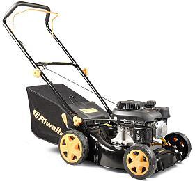 Riwall PRO RPM 4234 P,travní sekačka 2v 1s benzinovým motorem bez pojezdu