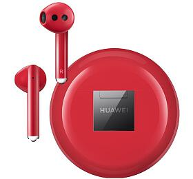 Huawei Bluetooth sluchátka CM-H3 FreeBuds 3 Red