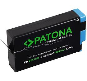 PATONA baterie pro digitální kameru GoPro MAX SPCC1B 1400mAh Li-Ion Premium