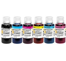 COLORWAY alternativní inkoustová náplň pro EPSON /C13T673x4A10/ L800/ L805/ L810/ L850/ L1800/ UV/ 6x100ml/ CMYK+foto