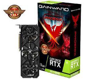 GAINWARD GeForce RTX 2070 SUPER Phoenix GS8GB GDDR6 256bit 3-DP HDMI