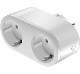 COLORWAY CW-SP2B-PTM/ Wi-Fi chytrá zásuvka/ 16A -3680W/ Dual