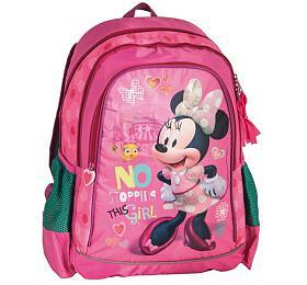 Batoh Školní batoh tříkomorový Minnie