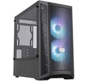 Cooler Master case MasterBox MB311L, aRGB, mATX, Mid Tower, černá, bez zdroje