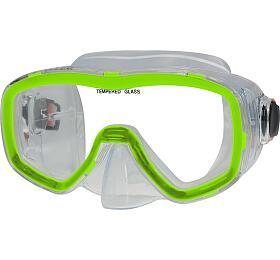 Potápěčská maska CALTER SENIOR 141P Ostatní, zelená