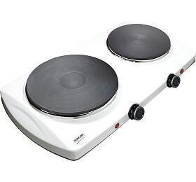 SCP 2253WH-EUE3 vařič dvouplot. Sencor