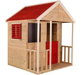 Marimex domeček dětský dřevěný Veranda +DÁREK