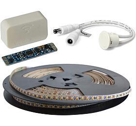 LED pásek sada 20m 12V 3528 120LED/m IP20 max. 9,6W/m bílá teplá extra, gold +TD308 +MC310 TIPA