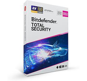 Bitdefender Total Security 2020 5zařízení na1 rok BOX