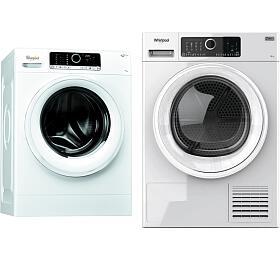 Whirlpool FSCR 70415 SupremeCare +Sušička prádla Whirlpool STU 82EU