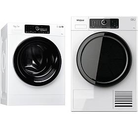 SET Pračka Whirlpool FSCR 12440 SupremeCare + Sušička prádla Whirlpool ST U 92E EU