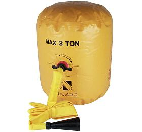 Balónový zvedák Air Jack 30178, pro vozy do3 t,max.výška 60cm TOOLCRAFT