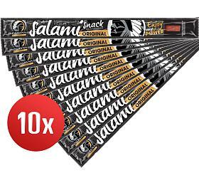 SET 10ks Jerky Salami Snack, 18g