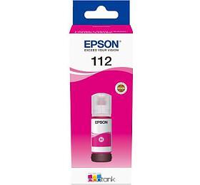 Epson 112 EcoTank Pigment Magenta ink bottle