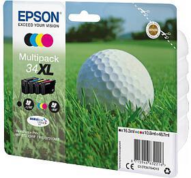 Epson Multipack 4-colours 34XL DURABrite Ultra Ink, lehce poškozený obal