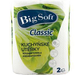 Utěrky kuchyňské papírové Big Soft 2ks
