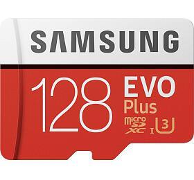 Samsung EVO Plus Micro SDXC 128GB +SD adaptér