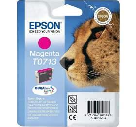 Epson T0713, 270 stran, originální -růžová