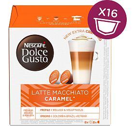 NESCAFÉ® Dolce Gusto® Latte Macchiato Caramel kávové kapsle 16ks