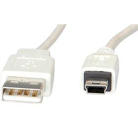 Kabel USB A(M) -miniUSB 5pin B(M), 0,8m