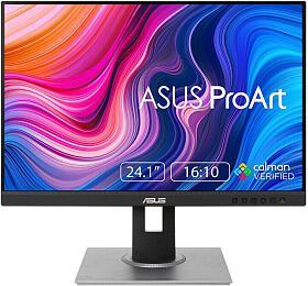 "ASUS LCD 24.1"" PA248QV ProArt Professional 16:10 IPS WUXGA 1920 x1200 100% sRGB 5ms 300cd repro VGA HDMI DPUSB PIVOT"