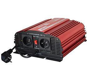 CARSPA CPS 600 12V/230V 600W čistá sinusovka+ UPS+ nabíječka