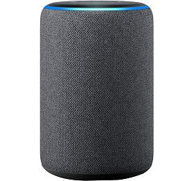 AMAZON hlasový asistent Echo Gray/ Amazon Alexa/ Wi-Fi/ Bluetooth/ 3.5 mmjack/ 3.generace/ šedý