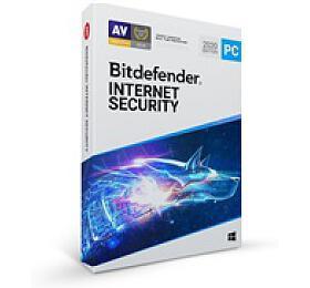 Bitdefender Internet Security -10PC na1 rok- elektronická licence doemailu