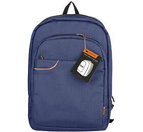 """Canyon CNE-CBP5BL3, elegantní batoh nanotebook dovelikosti 15,6"""", tmavě modrý"""