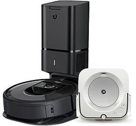 iRobot Roomba i7+ +BRAAVA JET M6