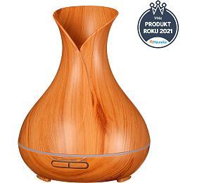 Aroma difuzer Vulcan světlé dřevo 350ml SIXTOL