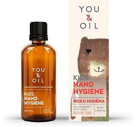 You &Oil KIDS Dětský čisticí gel naruce -spolehlivě čistí ahydratuje