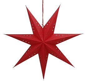 Retlux RXL 362 hvězda červená 10LED WW