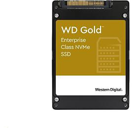 Western Digital Gold SSD 960GB U.2 NVMe PCIe Gen 3.1 x4, 3000/1100MB/s, 413k/44k IOPS, 0,8DWPD