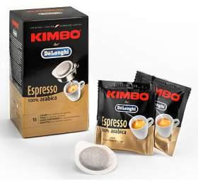 DeLonghi Kimbo 100% Arabica -18 kskávových podů