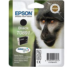 Epson T0891, 180 stran originální -černá