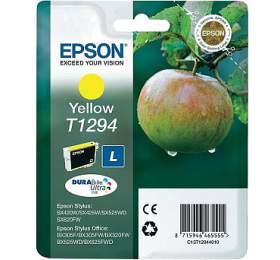 Epson T12944011, 485 stran originální -žlutá