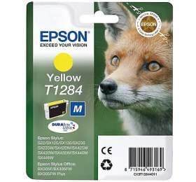 Epson T12844011, 3,5ml  originální -žlutá