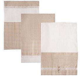Orion Dot Gifty bavlna 70x50 cm, béžová
