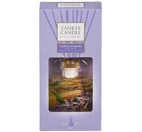 Yankee Candle Lemon Lavender interiérové vůně 88ml vonná stébla