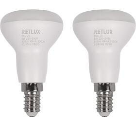 Retlux REL 28R50 2x6W E14 WW