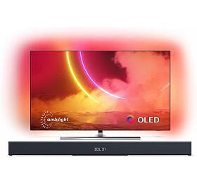 SET UHD OLED TV Philips 55OLED855 + TAB8205