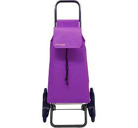 Rolser Saquet LNRd6 nákupní taška skolečky doschodů, fialová