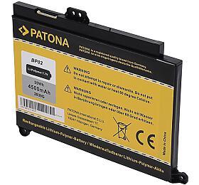 PATONA baterie pro ntb HPPavilion PC15 AU4500mAh Li-Pol 7,7V BP02XL, HSTNN-LB7H